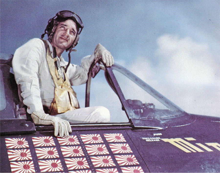medal of honor winner david mccampbell was the navys leading ace of all time