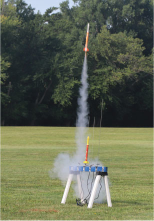 rockets are launched